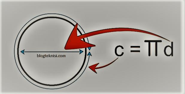 menghitung diameter lingkaran